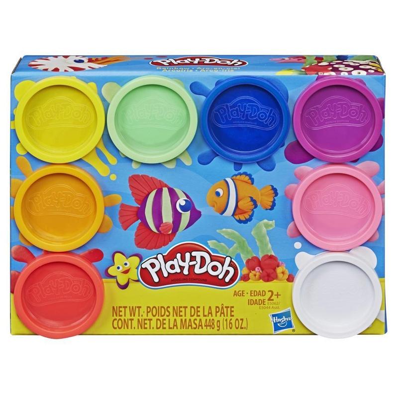Play Doh 8er Pack Regenbogenfarben