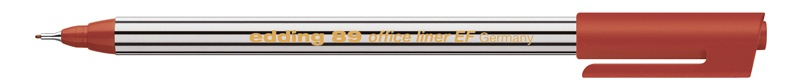 Edding 89 office liner EF Fineliner braun