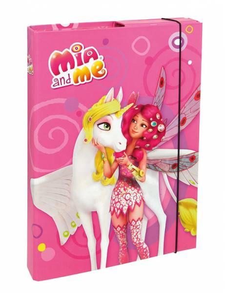 Mia and Me Heftbox A4