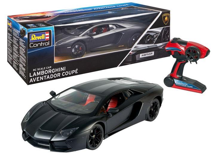 Revell RC Lamborghini Aventador 1:10 schwarz