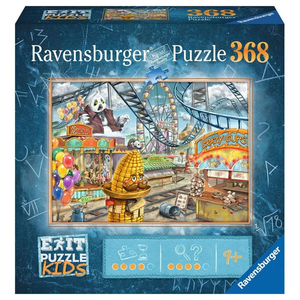 Ravensburger Puzzle EXIT Kids Im Freizeitpark 368 Teile
