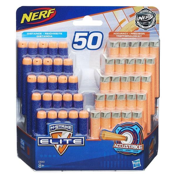 Nerf 50er Darts Nackfüllpack N-Strike-Elite und Accustrike