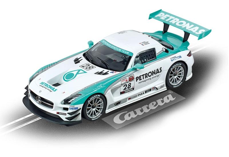 Carrera Digital 124 Mercedes-Benz SLS AMG GT3 Petronas No 28