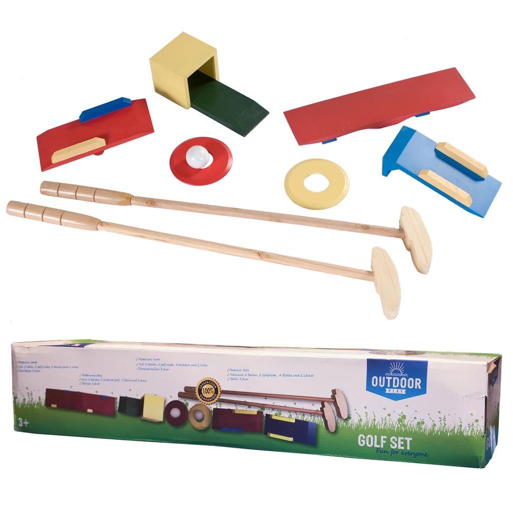 Golf Minigolf Holz Spiel