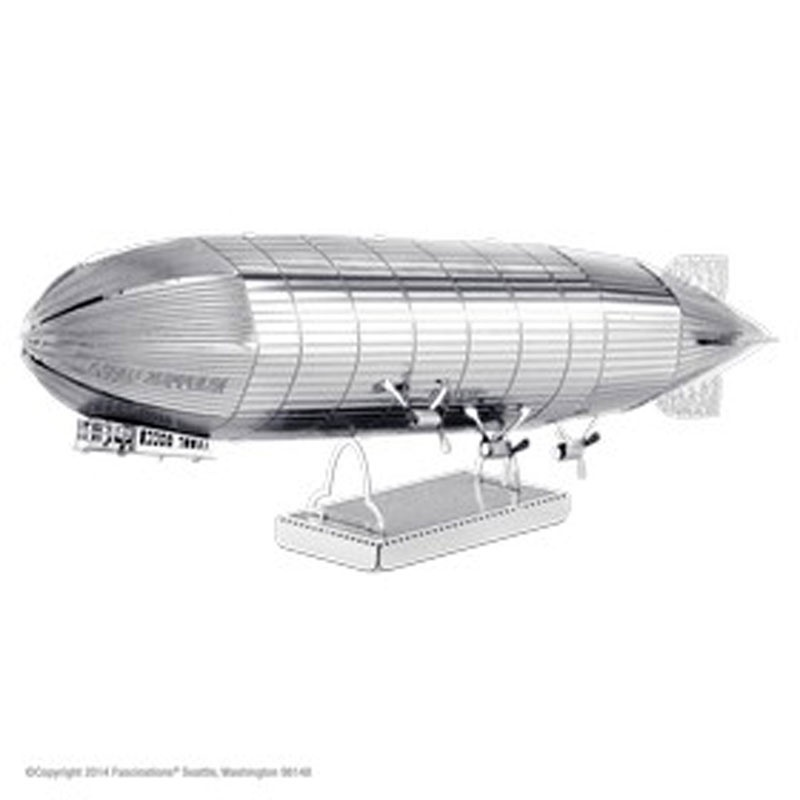 Bastelset Metal Earth Graf Zeppelin Silver Edition