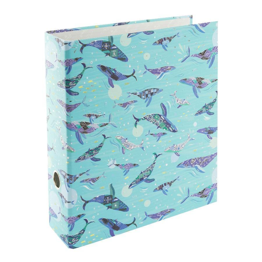 Goldbuch Turnowsky A4 Ordner Blue Ocean 8 cm