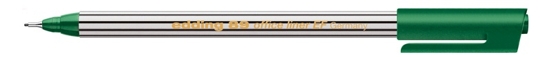 Edding 89 office liner EF Fineliner grün
