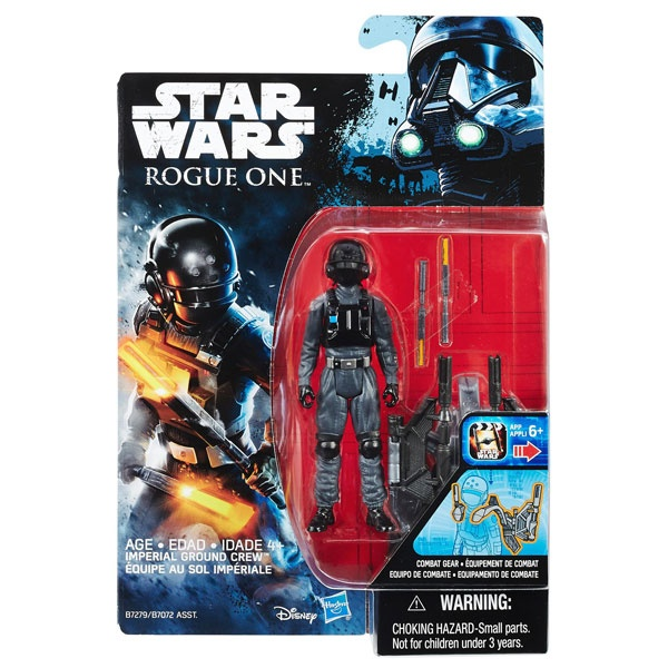Star Wars Rogue One Battle-Action Figur Imperial Ground Crew