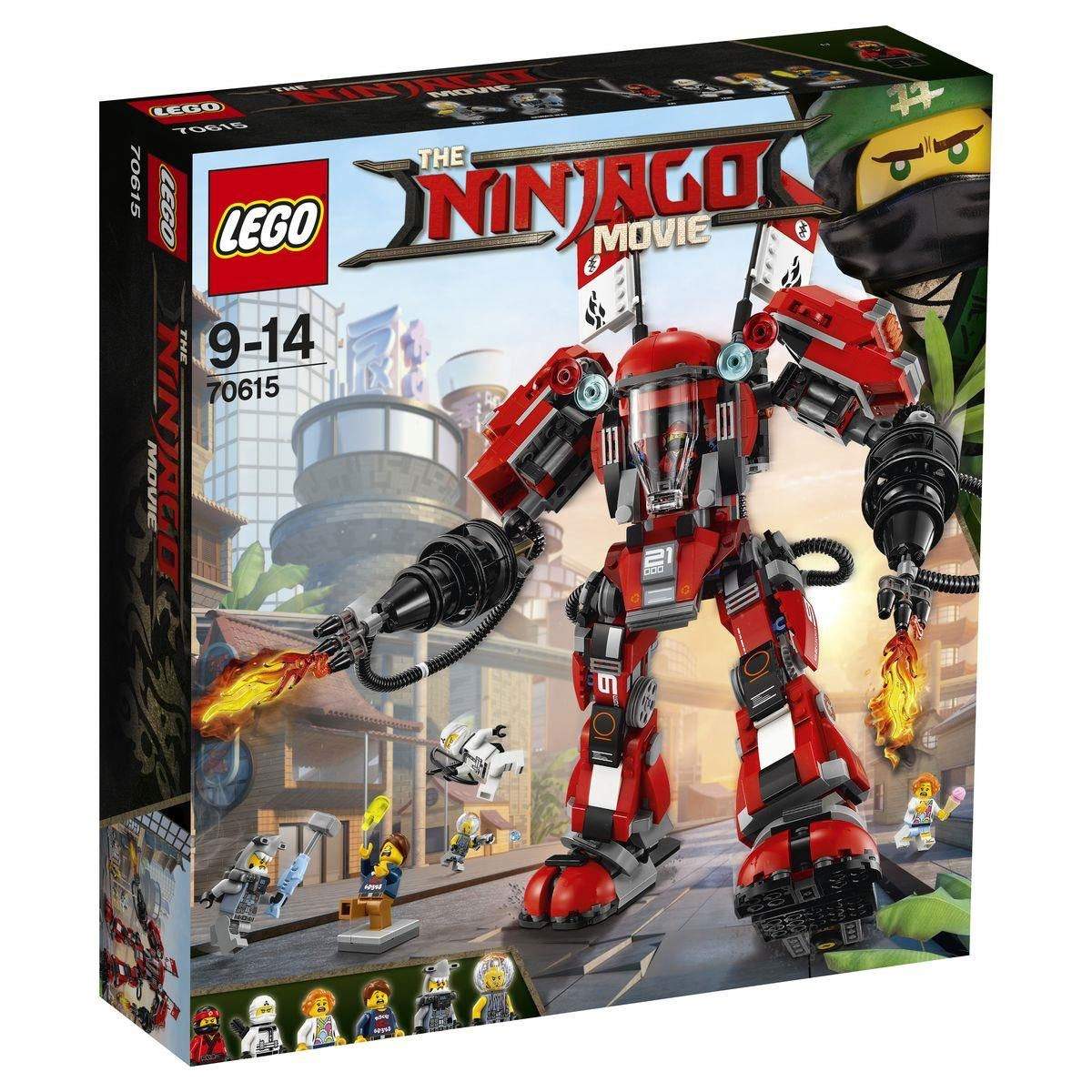 Lego Ninjago Movie 70615 Kai´s Feuer-Mech