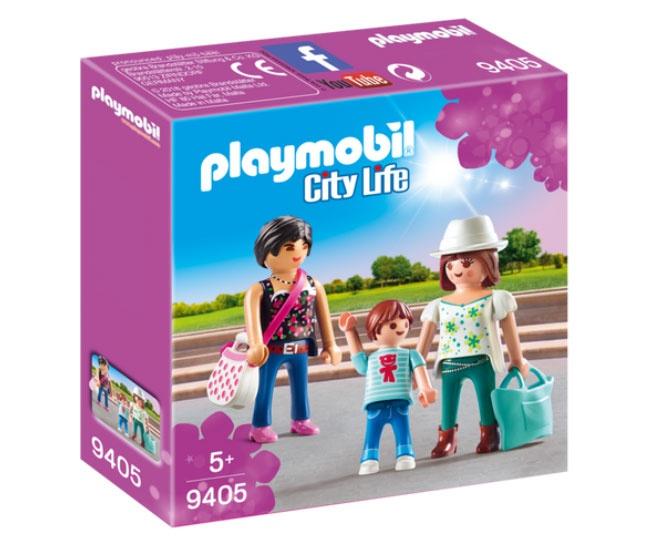 Playmobil 9405 City Life Shopping Girls