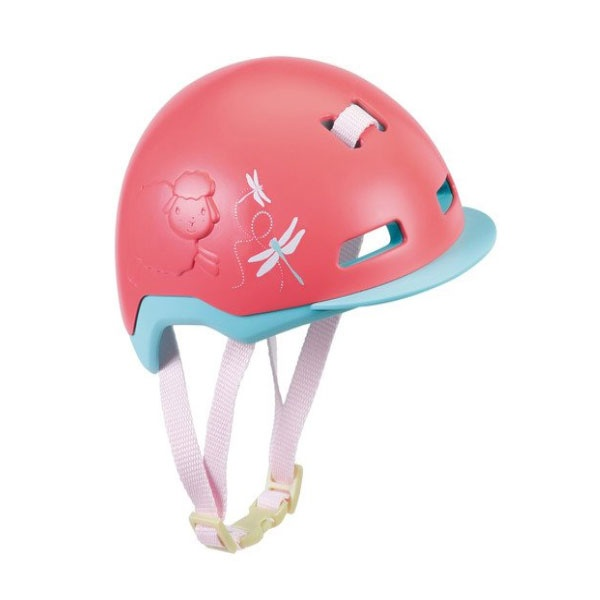 Baby Annabell Active Puppen Fahrradhelm pink