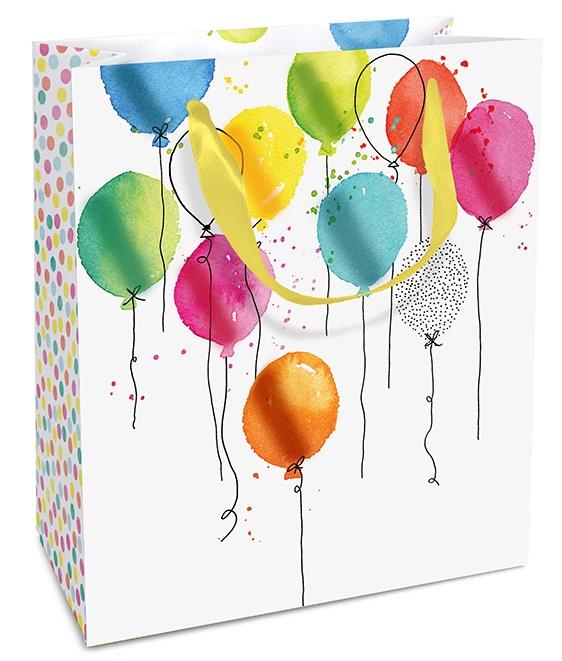 Geschenktasche Balloon Party 18 x 21 x 8 cm