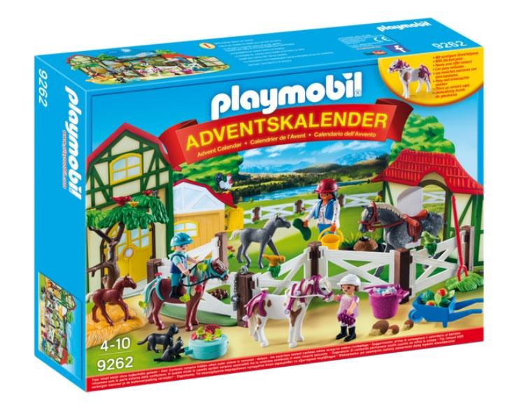 Adventskalender Playmobil 9262 Reiterhof