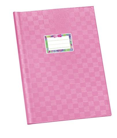 Hefthülle A4 rosa gedeckt