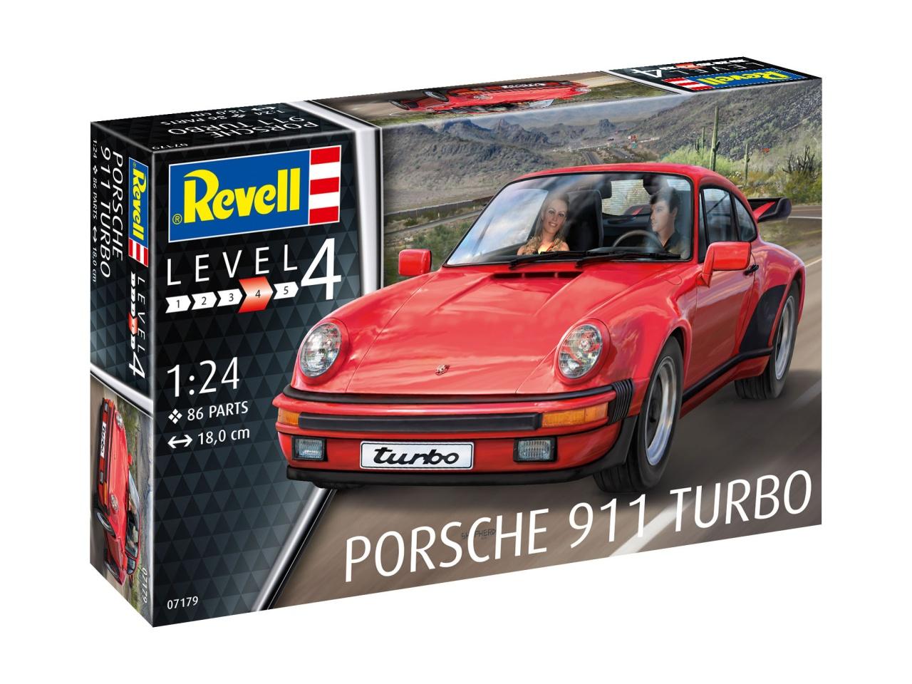 Revell 67179 Model Set Porsche 911 Turbo