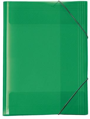 Veloflex Crystal Sammelmappe A3 transparent grün