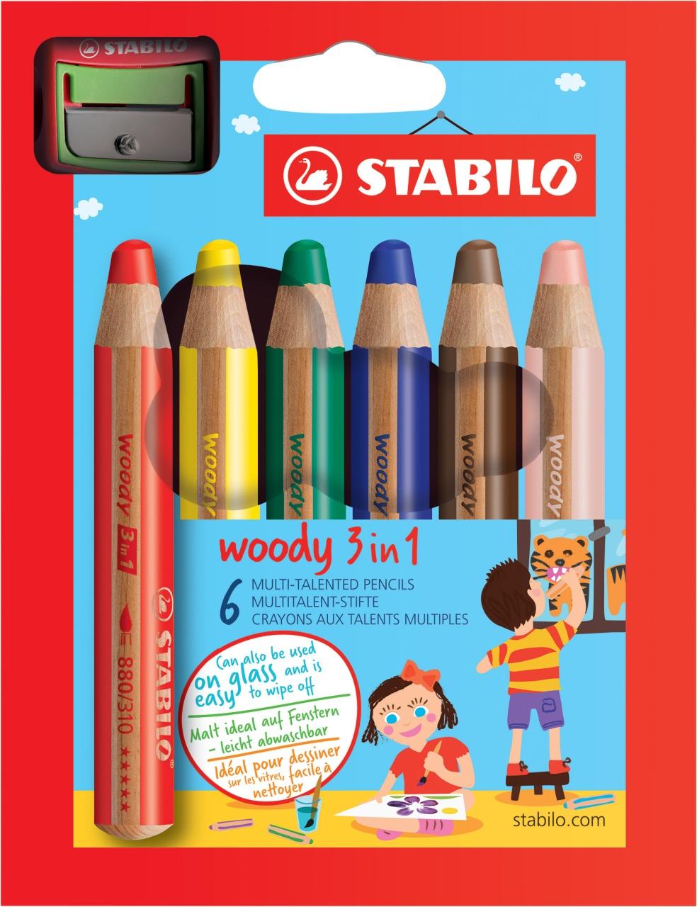 Woody mit Anspitzer