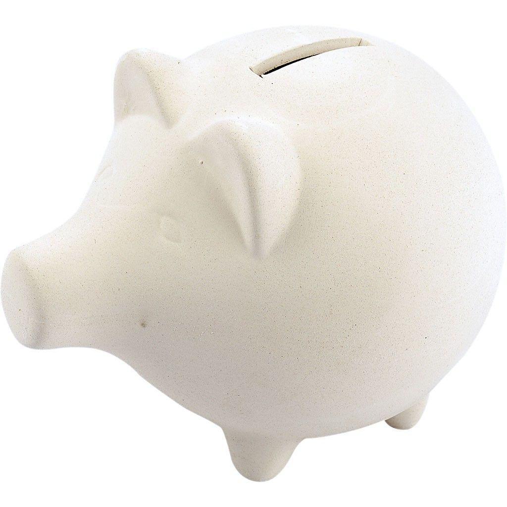 Sparschwein zum Selbstgestalten