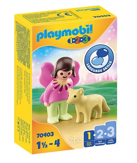 Playmobil 70403 1.2.3 Feenfreundin mit Fuchs