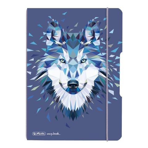 Herlitz Notizheft Flex A5 Wild Animals Wolf