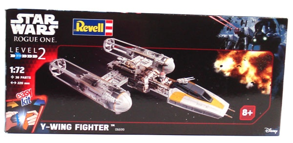 Revell 06699 Star Wars Y-Wing Fighter 1:72