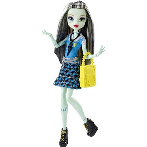Monster High Todschicke Monsterschülerin Frankie Stein