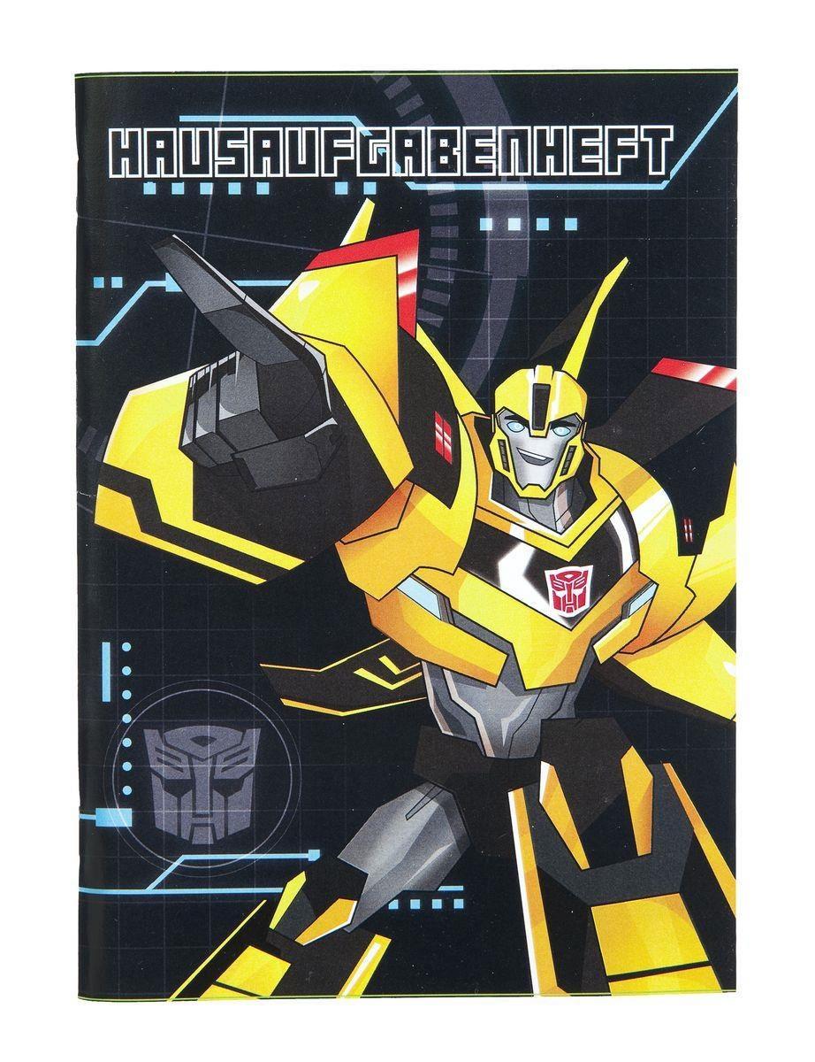 Transformers Hausaufgabenheft für Faule A5