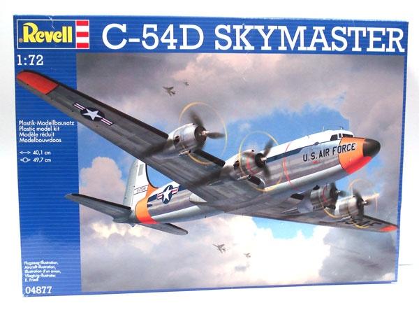 Revell 04877 Flugzeug C-54D SKYMASTER 1:72
