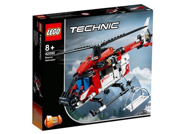 Lego Technic 42092 Rettungshubschrauber