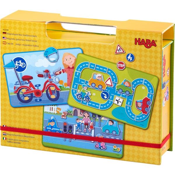 Haba 303388 Magnetspiel-Box Straßenverkehr