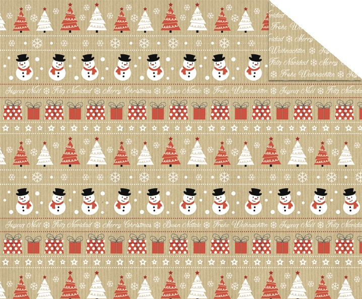 Fotokarton A4 Christmas Time Motiv 03