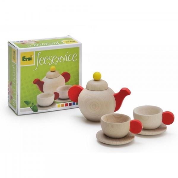 Erzi Puppengeschirr Teeservice aus  Holz