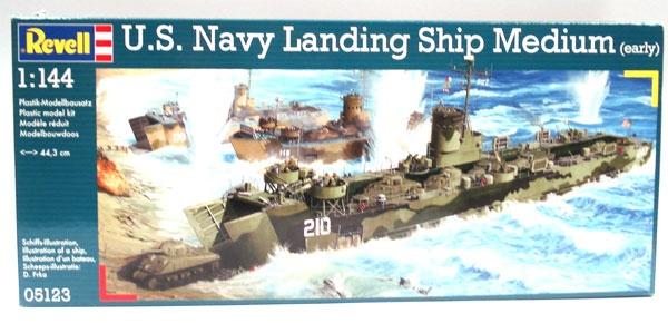 Revell 05123 U.S. Navy Landing Schip Medium 1:144