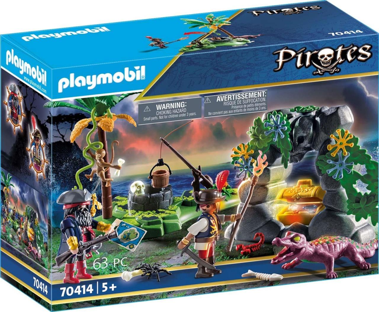 Playmobil 70414 Pirates Piraten-Schatzversteck