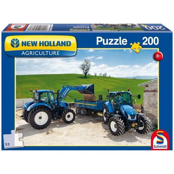 Puzzle New Holland T6AC/T5EC  200 Teile