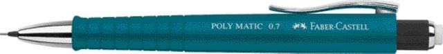 Faber Castell Druckbleistift Poly Matic 0,7 mm petrol