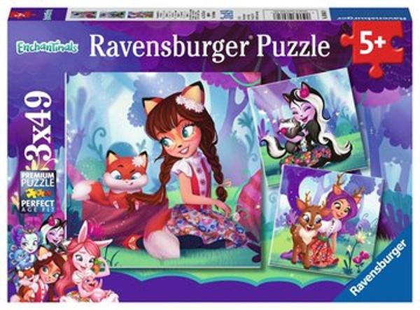 RavensburgerPuzzle Die wundervolle Welt der Enchantima