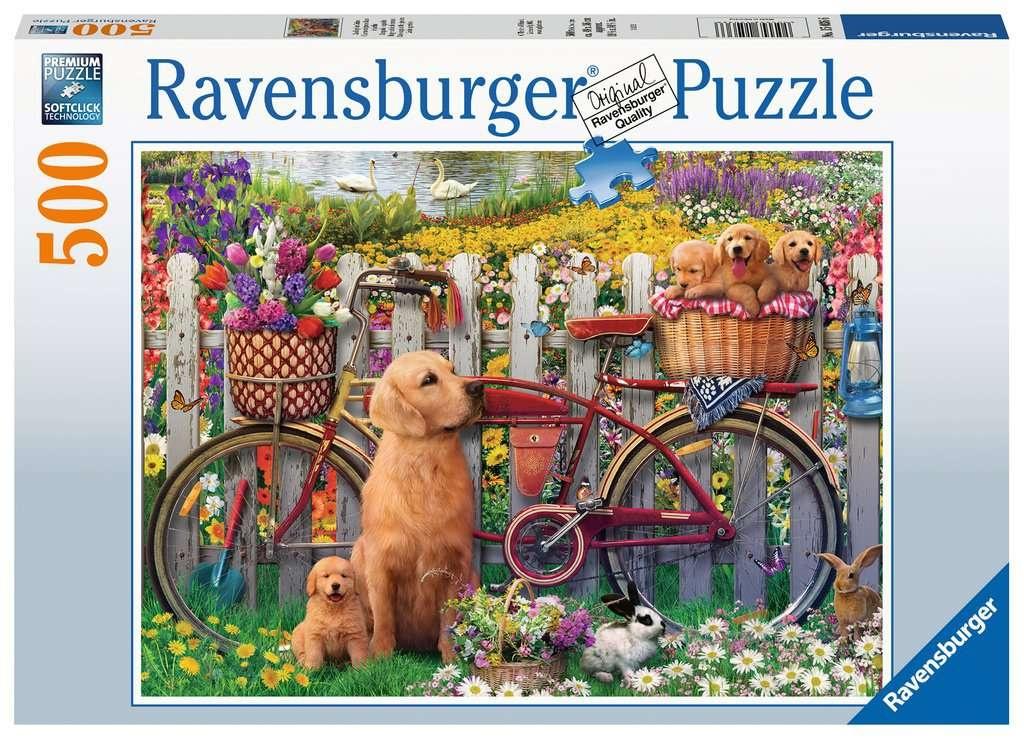 Ravensburger Puzzle Ausflug ins Grüne 500 Teile