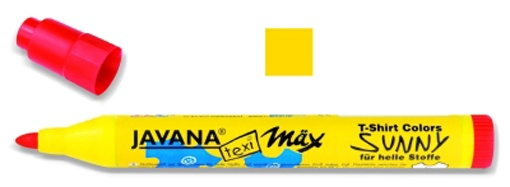 Kreul Javana texi mäx Sunny Stoffmalstift Medium Gelb