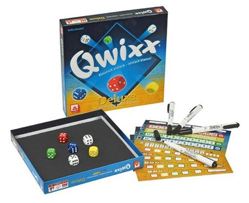 Nürnberger Spielkarten Qwixx Deluxe Würfelspiel