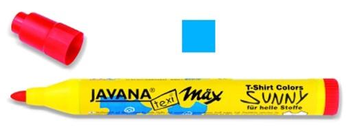 Kreul Javana texi mäx Sunny Stoffmalstift medium lichtblau