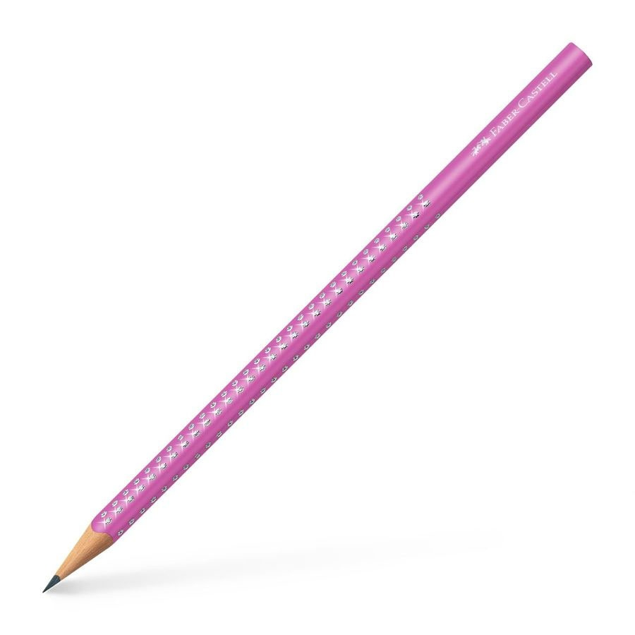 Faber Castell Bleistift Sparkle pink 2018