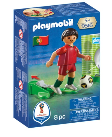 Playmobil 9516 Nationalspieler Portugal