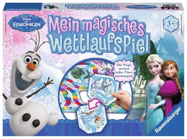 Ravensburger Die Eiskönigin Mein magisches Wettlaufspiel