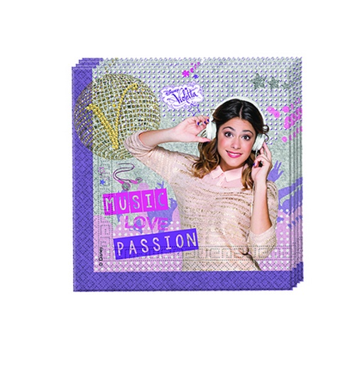 Violetta Gold Edition 20 Servietten