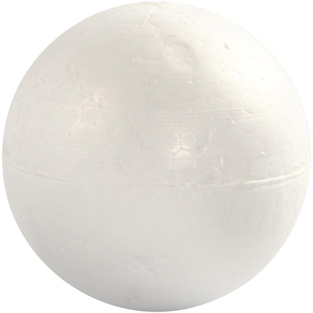 Styroporkugeln 10 cm weiß 5 Stück