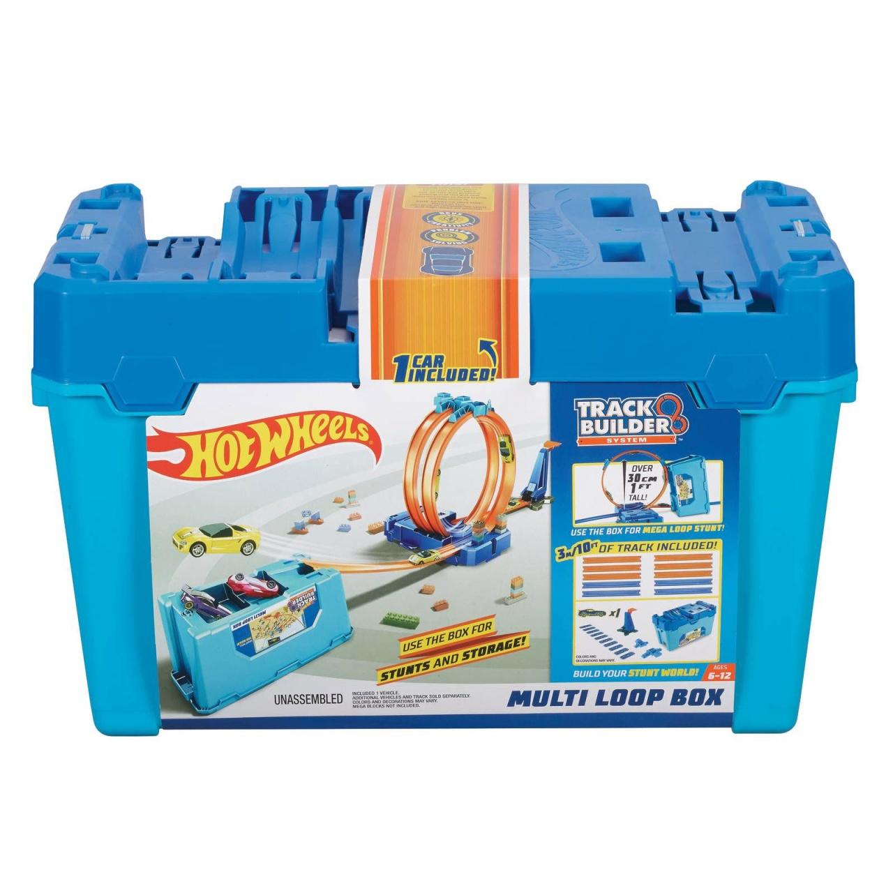 Hot Wheels Track Builder Unlimited Super Multi-Looping Box