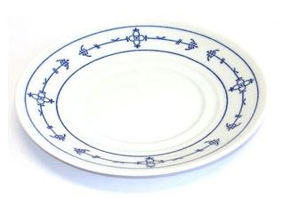 Triptis Winterling Strohmuster Suppen-Untertasse 16 cm