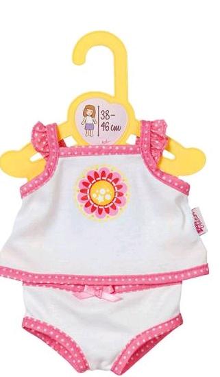 Dolly Moda Unterwäsche 38-46cm weiß