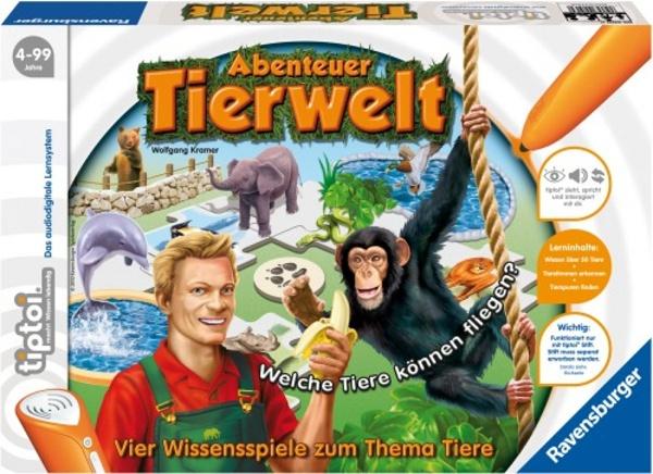 tiptoi Lernspiel Abenteuer Tierwelt